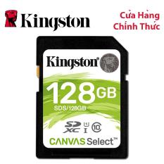 Thẻ nhớ SDXC Kingston Canvas Select 128GB Class 10 U1 (SDS/128GB)
