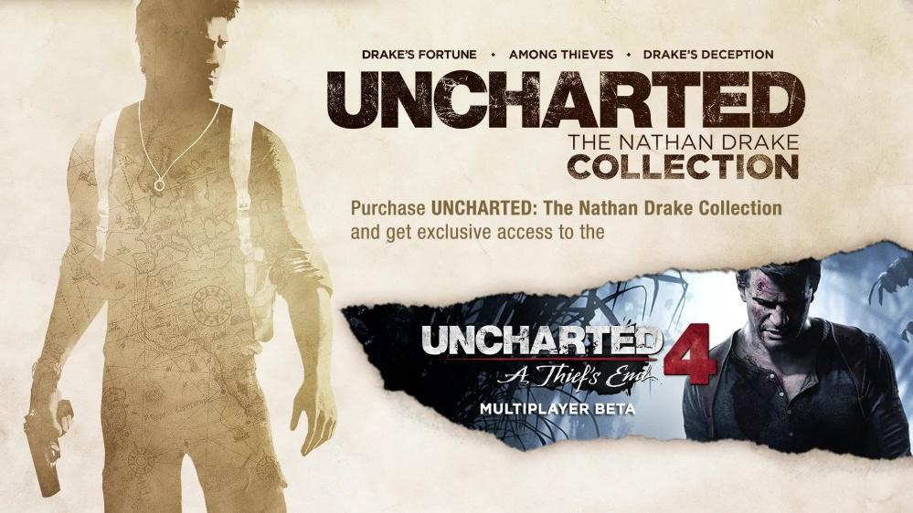 Đĩa game PS4 - Uncharted Collection