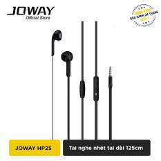 Tai nghe nhét tai JOWAY HP25 cho iPhone, Samsung, Oppo hỗ trợ đàm thoại – Hãng phân phối chính thức