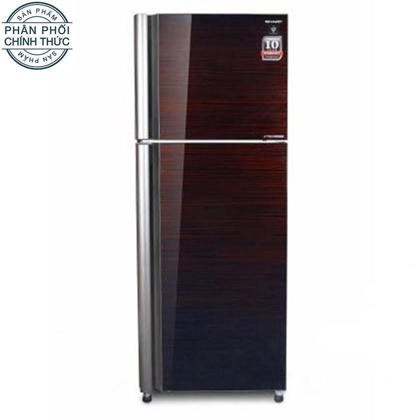 Tủ lạnh Sharp Dolphin SJ-XP400PG-BK 400L (màu Đen cáo cấp)