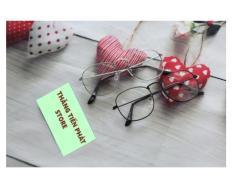 Combo 2 Mắt kính Nobita thời trang đẹp (trắng – đen )