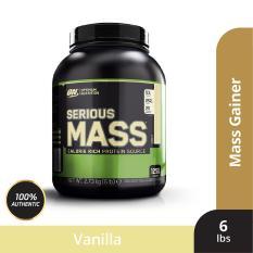 Thực phẩm bổ sung Optimum Nutrition Serious Mass Vanilla 6 lbs