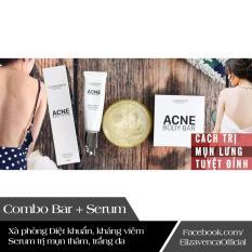 Bộ sản phẩm trị mụn lưng hiệu quả Elizavenca Body Bar + Elizavenca Body Serum