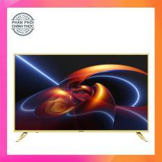 Giá Tốt Smart Tivi Led 43 inch Asanzo Full HD – Model 43AS520 (Vàng nhạt) Tích hợp DVB-T2, Wifi Tại Điện Máy Hải Đăng