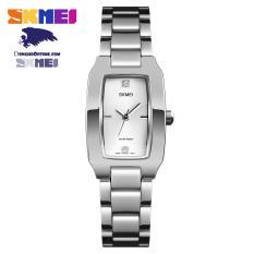 Đồng hồ nữ dây không gỉ Skmei 1400 sang trọng (Gold & Silver)