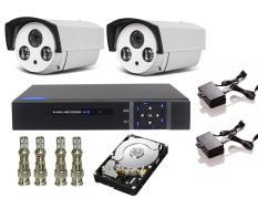 Trọn Bộ Đầu Ghi 4 Kênh Elitek+ 2 Camera 50913+ Ổ Cứng Chuyên Dụng 500GB + Phụ Kiện