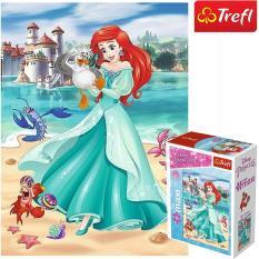 Tranh ghép hình TREFL miniMaxi 56004 – 20 mảnh Trong thế giới công chúa/ Disney Princess (có bán lẻ từng bộ)) (jigsaw puzzle Tranh ghép hình chính hãng TREFL)