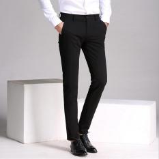 Quần tây âu nam vải Tuyết Hàn siêu đẹp – màu đen