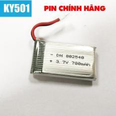 Pin Flycam KY501 dung lượng chuẩn 780mAh 3.7V