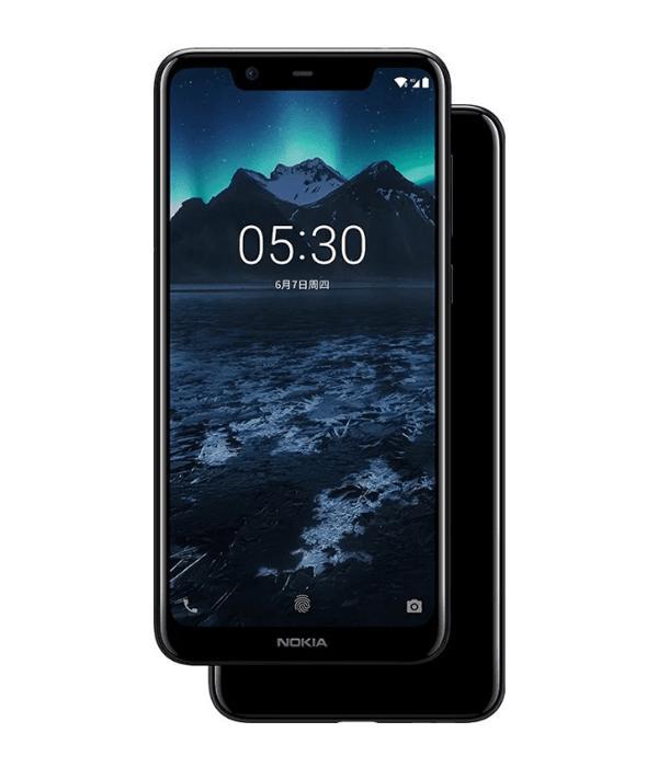 Nokia X5 32GB Ram 3GB (Đen) - Hàng nhập khẩu