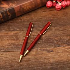 Qùa tặng VPP – Bút (viết) dạ bi chất liệu gỗ hồng mộc ký tên cao cấp bằng kim loại TM001 dành cho doanh nhân, khẳng định đẳng cấp cá nhân, ngòi viết 0.5mm. Mực thay dễ dàng khi hết.