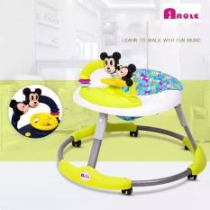 Xe tập đi tròn siêu rộng ANQLE hình Mickey