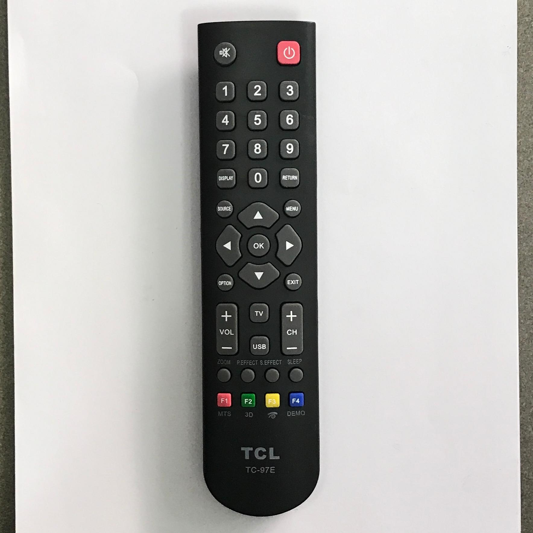 Điều khiển tivi TCL Đa năng TC-97E (đen)