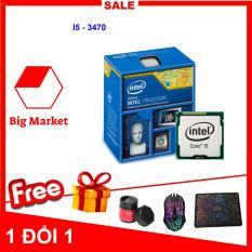 Bộ vi xử lý Intel Core I5 3470 (4 lõi – 4 luồng) + Bộ Quà Tặng – Hàng Nhập Khẩu