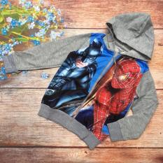 Khoác Thun Bé Trai In 3D Spiderman – Akt003