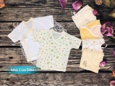 Combo 5 áo bé trai/bé gái sơ sinh hàng xuất Nhật siêu đẹp (màu ngẫu nhiên)