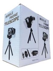 Ống kính đa năng cho điện thoại Zoom 8x (Đen)