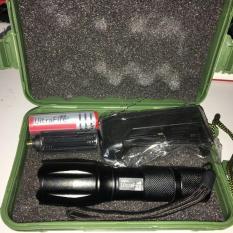 Đèn pin Police T6 MỚI siêu sáng Tặng Bộ sạc và pin sạc – BH 1 ĐỔI 1