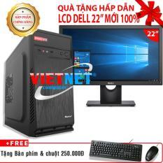 Máy tính chơi game intel G2020/2030 H61 RAM 4GB HDD 250GB tặng LCD Del 22 inch (VietNet)