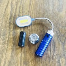 Đèn Led Để Bàn 10 Bóng Đế Có Nam Châm 1118, Siêu sáng, tiết kiệm pin, thích hợp cho cắm trại và học tập, sử dụng pin 3A, giá rẻ