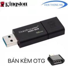 USB 3.0 16GB Kingston DT 100 G3 – CAM KẾT BH 5 NĂM 1 ĐỔI 1