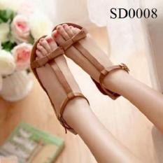 Giày Sandal chữ I nơ đôi