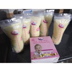(GIÁ TỐT) Hộp 50 Túi trữ sữa GB BABY
