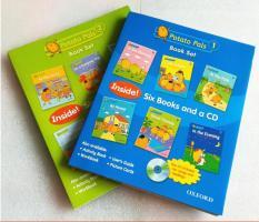 Sách truyện tiếng Anh Potato Pals book 02 sets ( gồm 12 cuốn + 02 CD)
