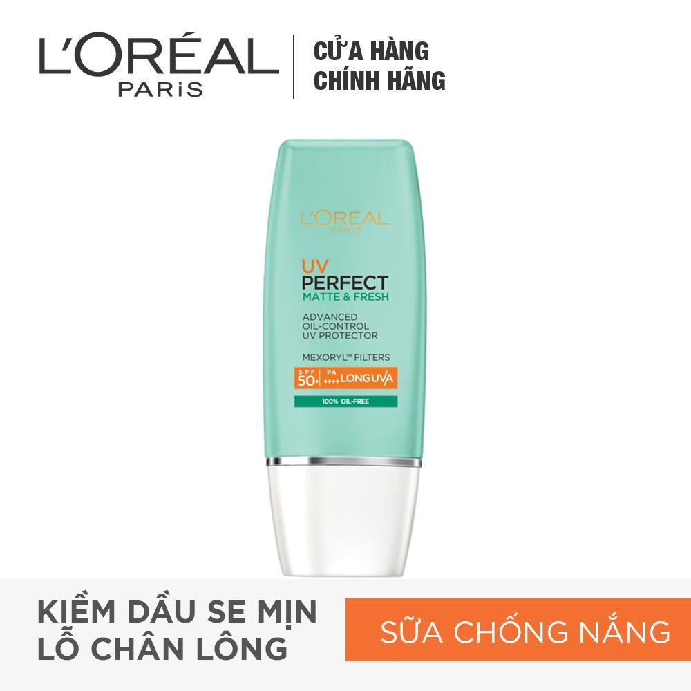 Kem chống nắng bảo vệ toàn diệnse mịn lỗ chân lông & chống ô nhiễm uv Perfect fresh & Matte SPF50/PA++++