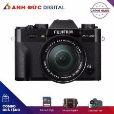 Máy ảnh Fujifilm X-T20 + 18-55mm – Hãng phân phối chính thức + Thẻ nhớ 16Gb + Túi máy ảnh + dán màn hình