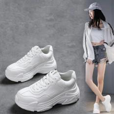 Giầy Sneaker nữ fullll trắng mẫu mới