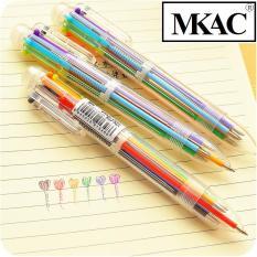Bút Bi Vạch Kế Hoạch 6 Màu (Cực tiện khi ghi chú)