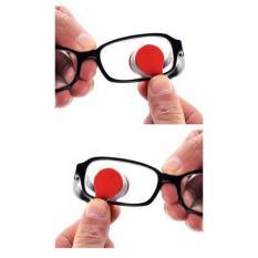 Dụng cụ kẹp bông dùng lau mắt kính cận, kính mát, tiện lợi dễ mang theo
