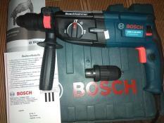 Máy khoan bê tông Bosch GBH 2-28D, 1200W, có thêm 1 măng danh phụ để khoan sắt gỗ, đủ 3 chức năng khoan gỗ sắt, bê tông và đục bê tông, xuất xứ BOSCH Thái Lan.