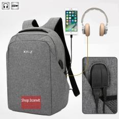 Balo Laptop Trang Bị Cổng USB Và Tai Nghe Tiện Ích Thương Hiệu KY-Z