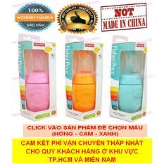 Fisher Price (Thái Lan) – Bình thìa silicone ăn dặm ăn bột cao cấp không BPA 150ml (Hồng, Cam, Xanh) (Cao cấp hơn các thương hiệu: BABY LOVE, GB, KICHILACHI, PIGEON,..)