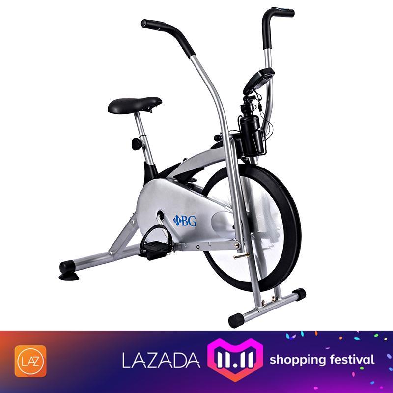 BG - Xe đạp tập thể dục Air bike (Grey)