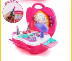 Vali Bộ đồ chơi dụng cụ trang điểm Make Up