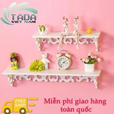 Set kệ treo tường trang trí TADA – TD45 + Tặng ngay set lá trang trí