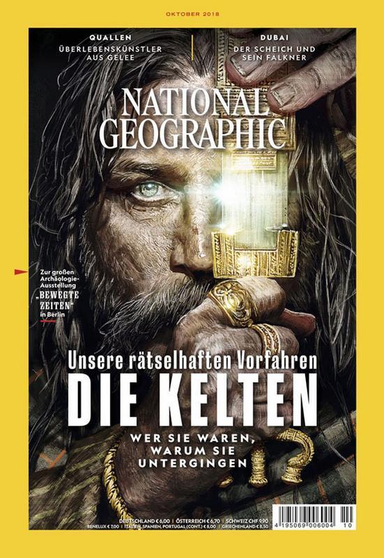 Tạp chí National Geographic Deutschland- Oktober 2018