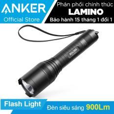 Đèn pin siêu sáng ANKER LC90 (Bolder by ANKER) Flashlight (Đen)