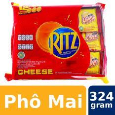 Bánh Quy RITZ Vị Phô Mai 324g (12 gói)