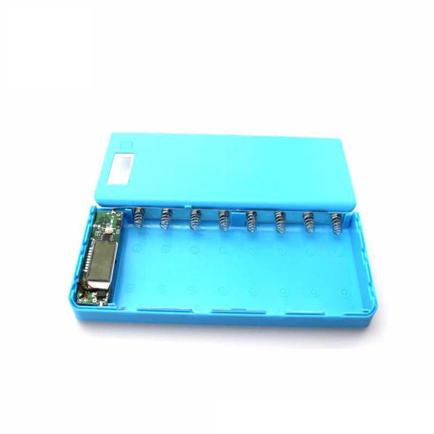 Box sạc dự phòng 8 cell (màu xanh – không gồm pin) Đang Bán Tại ShopDV
