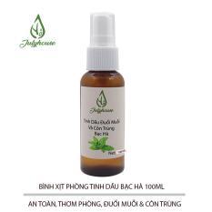 Tinh dầu đuổi muỗi Hương Bạc Hà Spray Julyhouse 100ml
