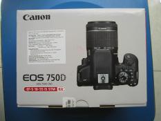 Máy ảnh canon EOS 750D 18~55mm IS STM