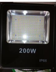 Đèn Pha Led IP66 Siêu mỏng, siêu sáng 200W (Ánh Sáng Trắng)