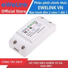 Công Tắc Thông Minh eWeLink EB10 Điều Khiển Từ Xa Qua WIFI, 3G, 4G
