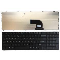 Bàn Phím Laptop Sony Vaio SVE15 Series Có Khung – Màu Đen
