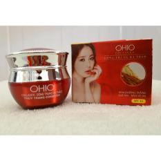 Kem dưỡng trắng – Giữ ẩm – Bảo vệ da OHIO Collagen – Đông Trùng Hạ Thảo 20g
