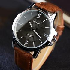 Đồng hồ nam thời trang dây da cao cấp Yazole Q10(Cập nhật 2019)